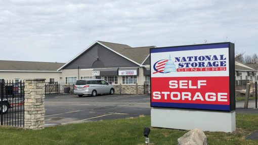 National Storage Centers facility in Cedar Springs, Michigan.