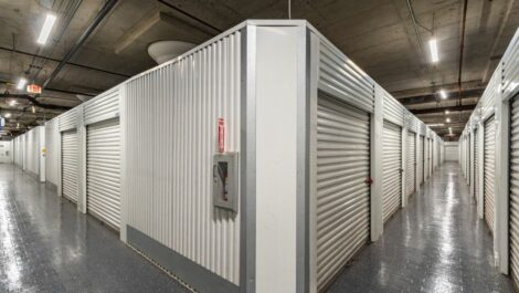 Indoor, climate controlled storage units at National Storage Centers in Detroit, MI.