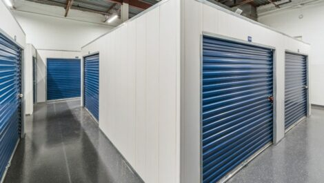 Indoor, climate controlled units at National Storage Centers in Detroit, MI.