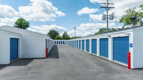 Bloomfield East drive-up storage units.