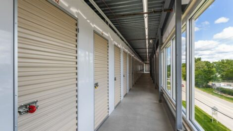 Indoor, climate controlled storage units at National Storage Centers in Pontiac, MI.