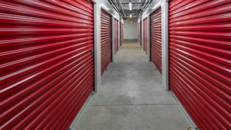 Indoor, climate controlled units at Center Line Self Storage in Center Line, MI.