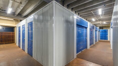 Indoor, climate controlled units at National Storage Centers in Grand Rapids, MI.