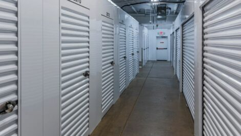 Indoor, climate controlled units at National Storage Centers in Harbor Springs, MI.