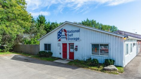 National Storage Centers Highland main office exterior.