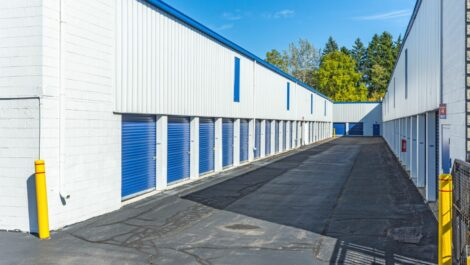 National Storage Center of Ann Arbor - Plymouth Rd drive-up units.
