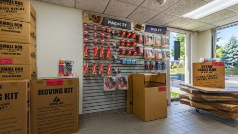 Storage Unlimited packing supplies for sale.