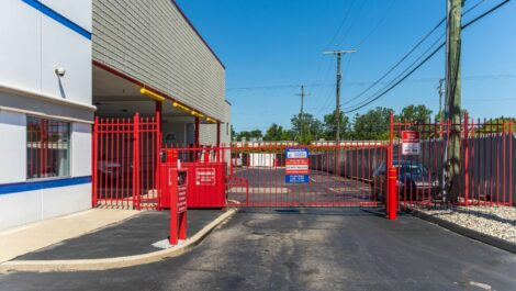 National Storage Centers - Southfield security gate.