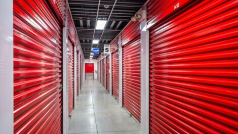 Indoor, climate controlled units at National Storage Centers in Southfield, MI.