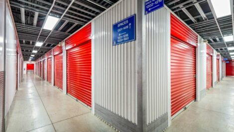 Indoor, climate controlled storage units at National Storage Centers in Southfield, MI.