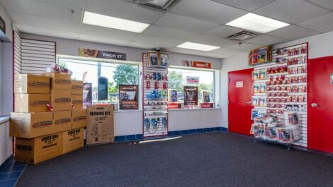 Moving and packing supplies at National Storage Centers in Southfield, MI.