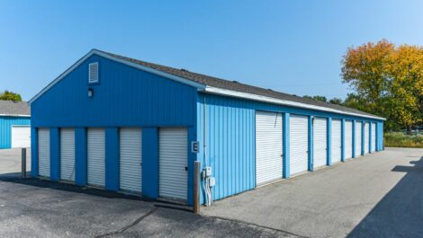 National Storage Centers - Sparta drive-up units.