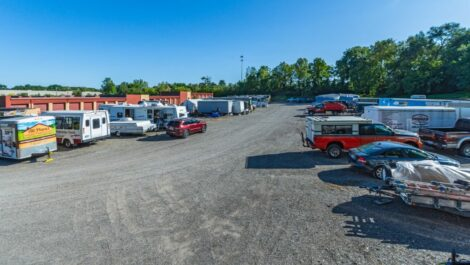 The Storage Chest RV parking spaces.