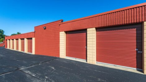 The Storage Chest drive-up units.