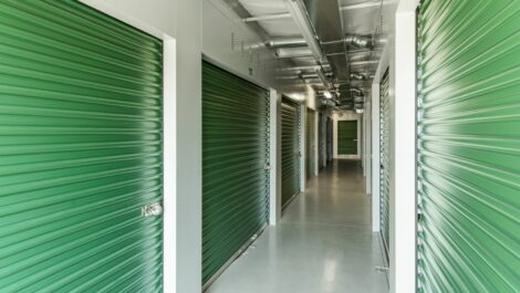 Indoor, climate controlled units at National Storage Centers of Traverse in Traverse City, MI.