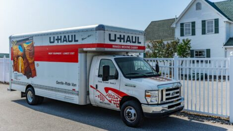 National Storage Centers of Traverse-Silver Lake U-Haul for rent.