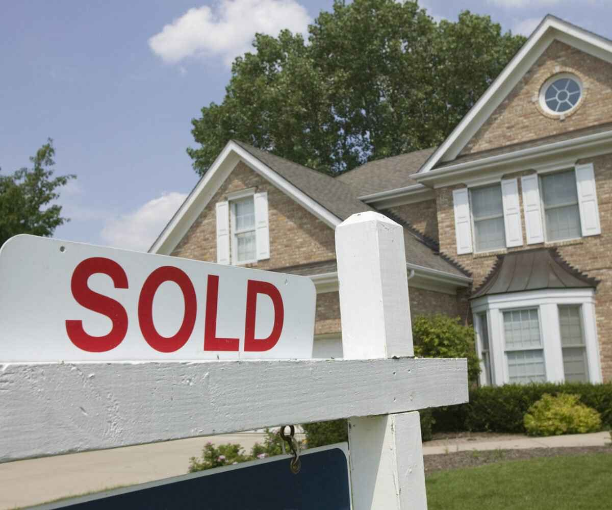 A house that is sold