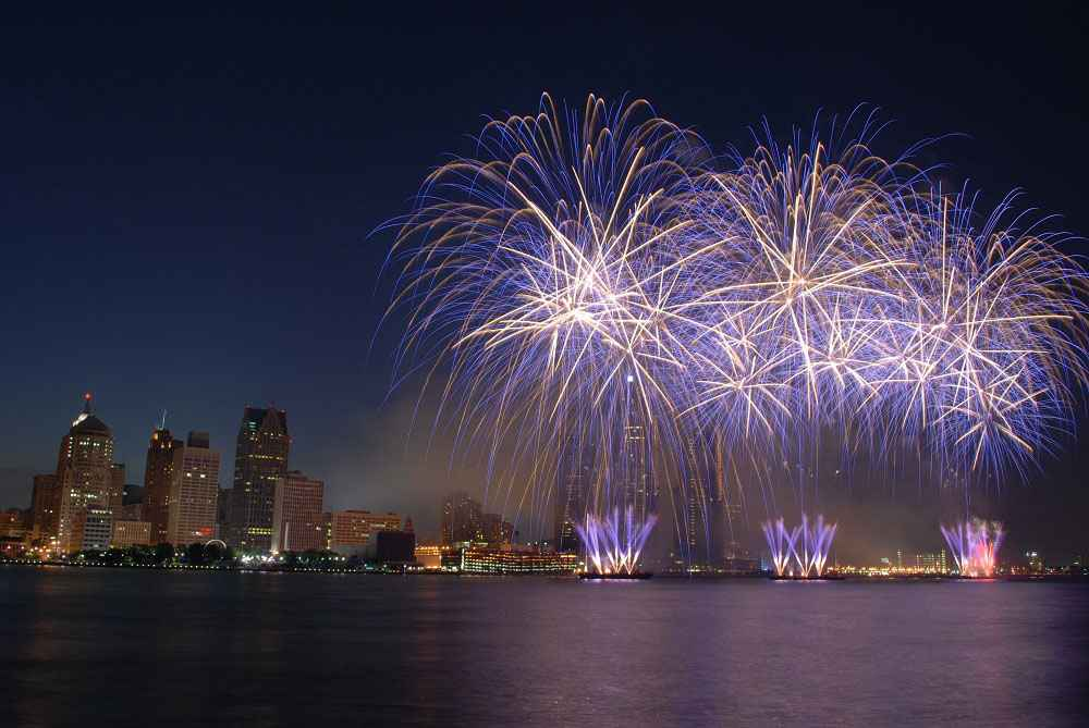 4th of July in Detroit