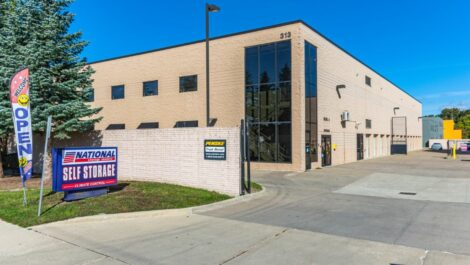 National Storage Centers - Royal Oak store front.