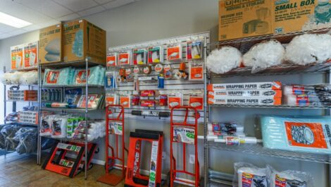 A Plus Self Storage - Flint packing supplies for sale.