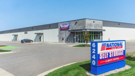 National Storage Centers facility in Byron Center, MI.