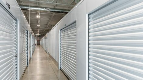 Indoor, climate controlled storage units at National Storage Centers in Byron Center, MI.