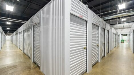 Indoor, climate controlled storage units at National Storage Centers in Grand Rapids, MI.