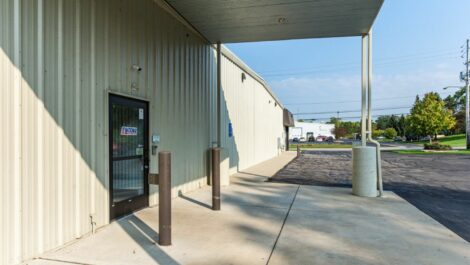 Loading area at National Storage Centers in Grand Rapids, MI.