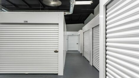 Indoor, climate controlled storage units at National Storage Centers in Jenison, MI.