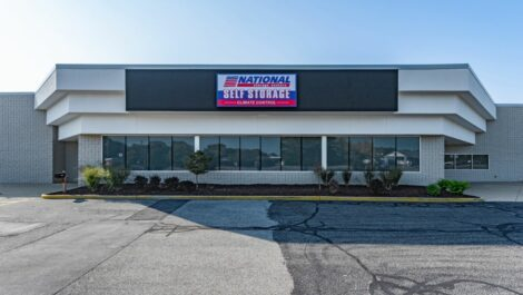National Storage Centers - Walker store front.