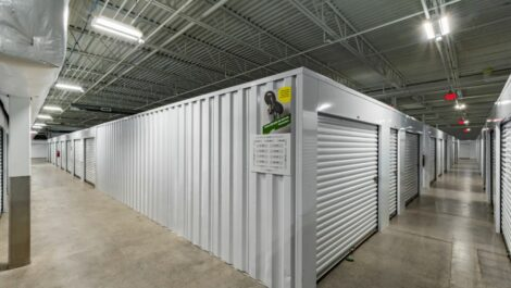 Indoor, climate controlled units at National Storage Centers in Walker, MI.