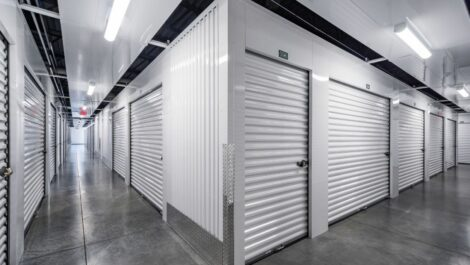 Indoor, climate controlled units at C-More Self Storage in Ortonville, MI.
