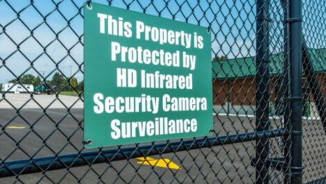 """""""This property is protected by HD infrared security camera surveillance."""""""