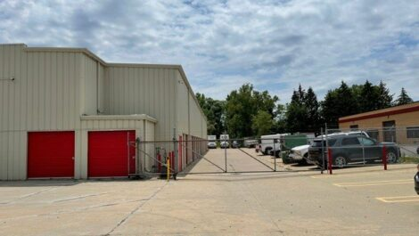 National Storage Centers - Livonia West security gate.